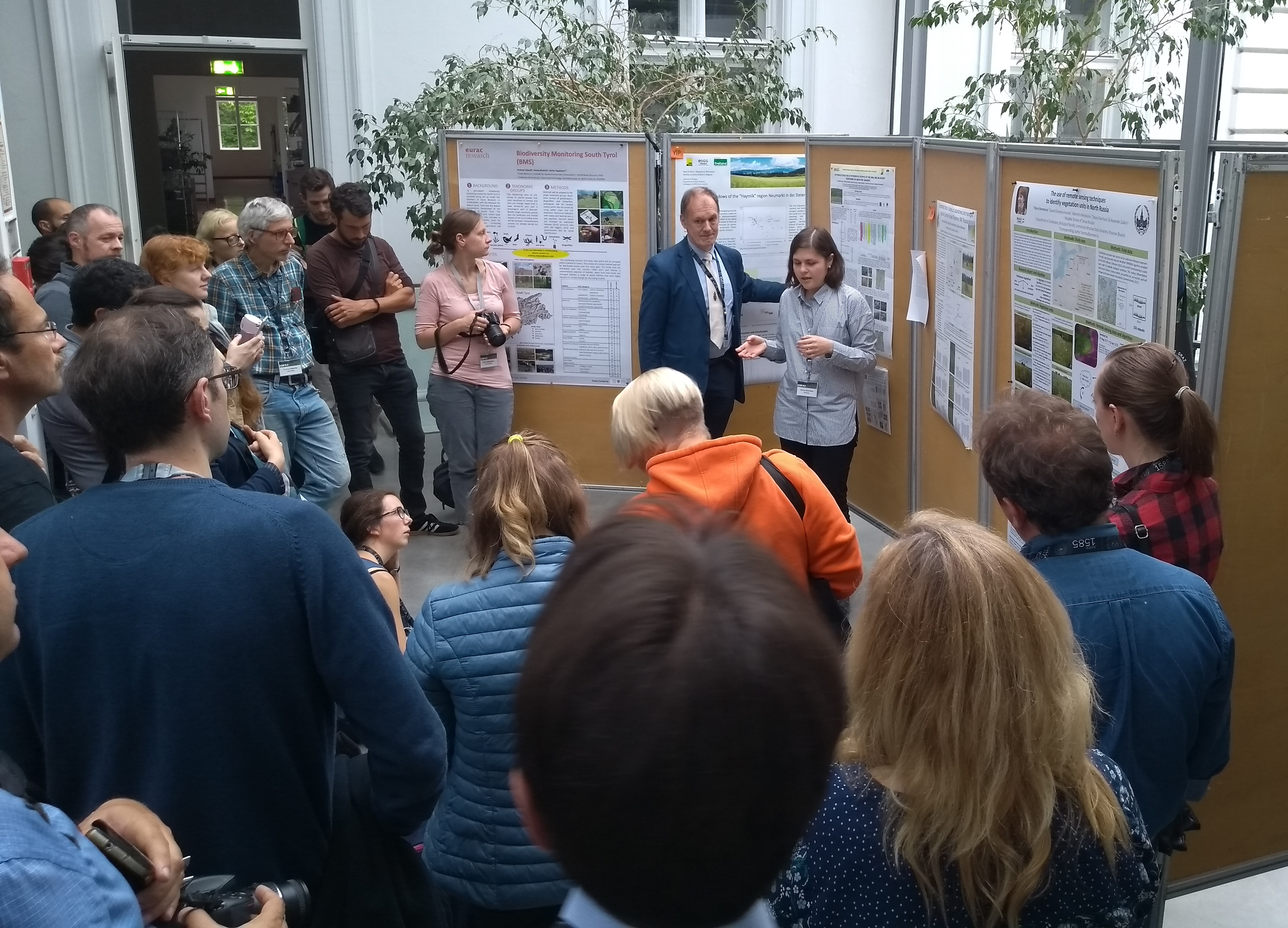 poster session in EGC2019