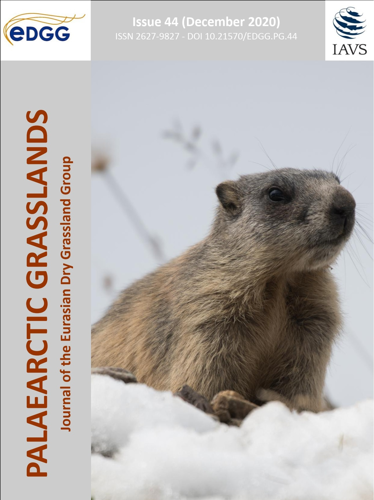 Palaearctic Grasslands issue 44 cover